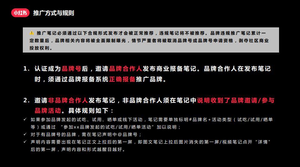 小红书推广笔记操作指南